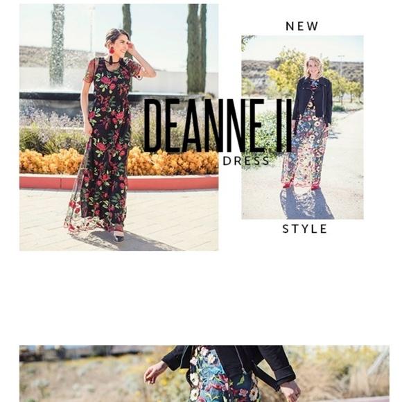 LuLaRoe Dresses & Skirts - Lularoe Deanne Dress